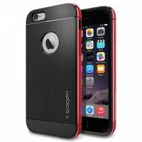Чехол от SGP для iPhone 6 Case Neo Hybrid Metal (4.7) Red, Цена: 498 грн, Фото