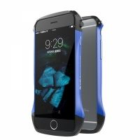 Бампер GINMIC Aluminum Carbon Fiber For iPhone 6.6S Blue, Цена: 753 грн, Фото