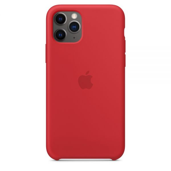 фото Силиконовый чехол Apple iPhone 11 Pro Max Silicone Case OEM Red