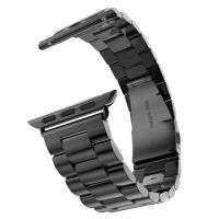 Браслет Steel Watch Band Black For Apple Watch 38/40/42/44mm