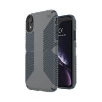 Чехол Speck fop Apple iPhone XR PRESIDIO GRIP - GRAPHITE GREY/CHARCOAL GREY, Цена: 954 грн, Фото