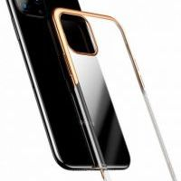Чехол-накладка Baseus Glitter для iPhone 11 Pro Max Gold, Цена: 427 грн, Фото
