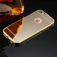 Чехол глянец Mirror Gold case for iPhone 6.6s & iPhone 7.7 plus / 8.8 plus, Цена: 377 грн, Фото