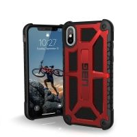 Чехол UAG для iPhone X/ 10 Monarch Carbon Red