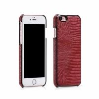 HOCO Series Classic Crocodile Leather Back Case for iPhone 6.6s. 6 plus - Red