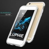 Бампер Luphie Ultra Luxury Silver for iPhone 6.6s