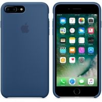 Силиконовый чехол Apple Silicone Case Ocean Blue для iPhone 7/8 plus
