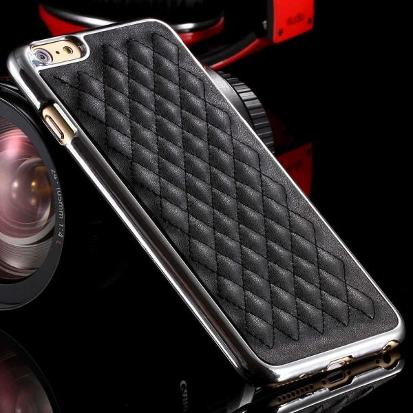 Чехол luxury Black-Silver for iPhone 6 - Фото 1