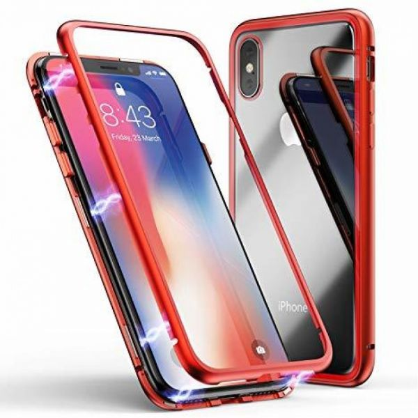 фото Чехол Magnetic Red For iPhone X/XS/10