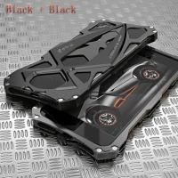 Чехол iPhone 7.7 plus / 8.8 plus Roadster aluminum metal Black