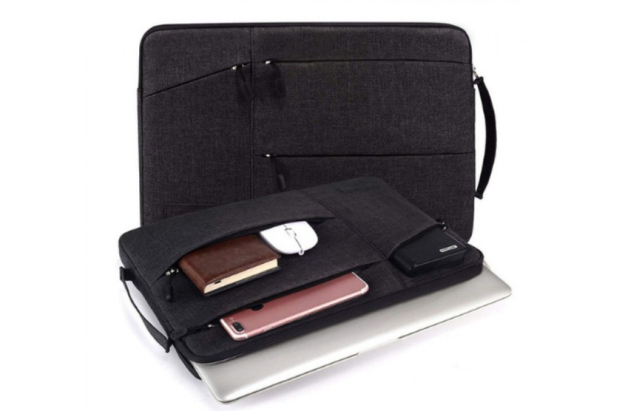 фото Чехол-сумка WIWU GearMax Traveler Sleeve для MacBook Air/Pro 13/ Pro 15 Black