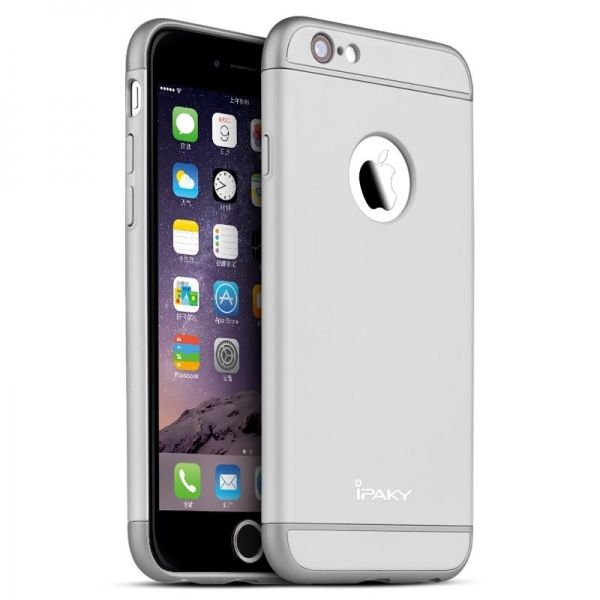 фото Чехол iPaky Silver Full Cover For iPhone 6.6S