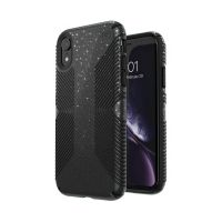 Чехол Speck fop Apple iPhone XR PRESIDIO CLEAR   GLITTER - OBSIDIAN BLACK WITH SILVER GLITTER/BLACK, Цена: 1130 грн, Фото