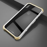 Чехол Element Case Template Glass  For iPhone X/10 Silver-Gold