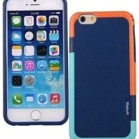 Чехол силиконовый Walnutt Back Cover for Apple iPhone 6 (Deep Blue), Цена: 301 грн, Фото