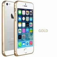 Бампер Cross-Line New series for iPhone 5.5s Gold