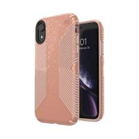 Чохол Speck fop Apple iPhone XR PRESIDIO CLEAR + GLITTER - BELLA PINK WITH GOLD GLITTER/BELLA PINK