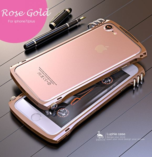 Фото Бампер Alien X1 rotary screw for iPhone 7.7 plus/ 8.8 plus Rose Gold