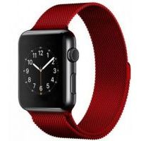 Браслет Apple Watch 38/40/42/44mm Milanese Loop (magnetic) Red
