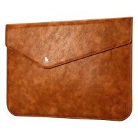 Чехол кожаный Brown от JisonCase for MacBook air 13.3 pro 13, Цена: 1017 грн, Фото