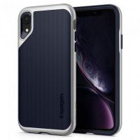 Чехол Spigen Neo Hybrid for iPhone XR - Satin Silver (064CS24880)