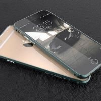 Тонкий бампер Designed by Luphie для iPhone 6. 6 plus Blade Navy