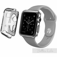 Чехол Silicol 0.6mm для Apple Watch 38mm and 42mm Grey