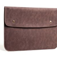 Чехол felt & leather от Gmakin для MacBook Air 13.3 Pro 13 Vintage Brown