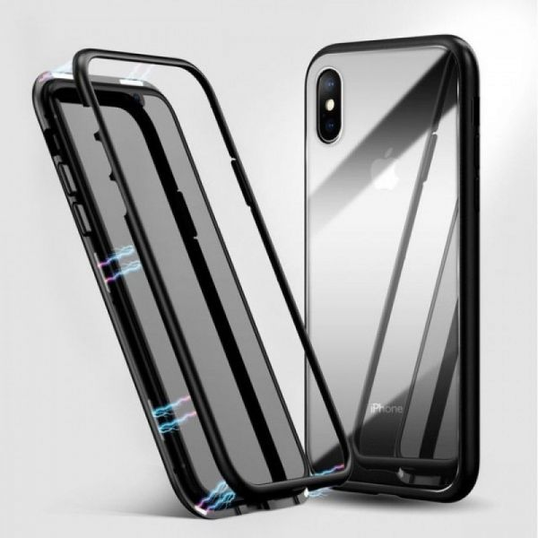 фото Чехол Magnetic Black For iPhone X/XS/10