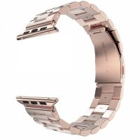 Браслет Steel Watch Band Rose Gold For Apple Watch 38/40/42/44mm