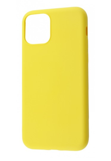 Чехол Silicone cover My Colors с Packing для iPhone 11 Yellow - Фото 1