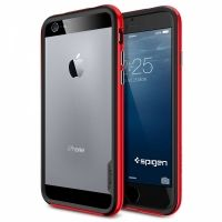 Бампер Spigen Neo Hybrid EX Dante Red для iPhone 6 (4.7). iPhone 6 plus (5.5)
