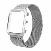 Чехол-браслет Apple Watch 38/40/42/44mm with Milanese Loop (magnetic) Silver