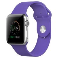 Ремешок Silicone Purple Sport Band for Apple Watch 38/40/42/44mm