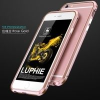 Бампер Luphie Ultra Luxury Rose Gold for iPhone 6.6s