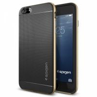 Чехол Spigen Neo Hybrid Champagne Gold для iPhone 6. iPhone 6 Plus, Цена: 669 грн, Фото