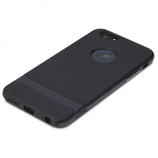 Чехол Rock Neo Hybrid Soft Case  with Bumper for iPhone 6 / iPhone 6 plus (navy blue) - Фото 1