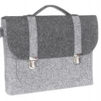 Сумка Gmakin Business Bag для MacBook Air 13/13.3 Pro 13 Grey-Black, Цена: 628 грн, Фото