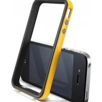Бампер SGP Case Neo Hybrid 2S Vivid Series Reventon Yellow for iPhone 4/4S