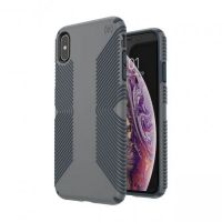 Чохол Speck for Apple iPhone XS Max PRESIDIO GRIP - GRAPHITE GREY/CHARCOAL GREY