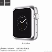 Чехол HOCO Silicone для Apple Watch 38/42mm Silver