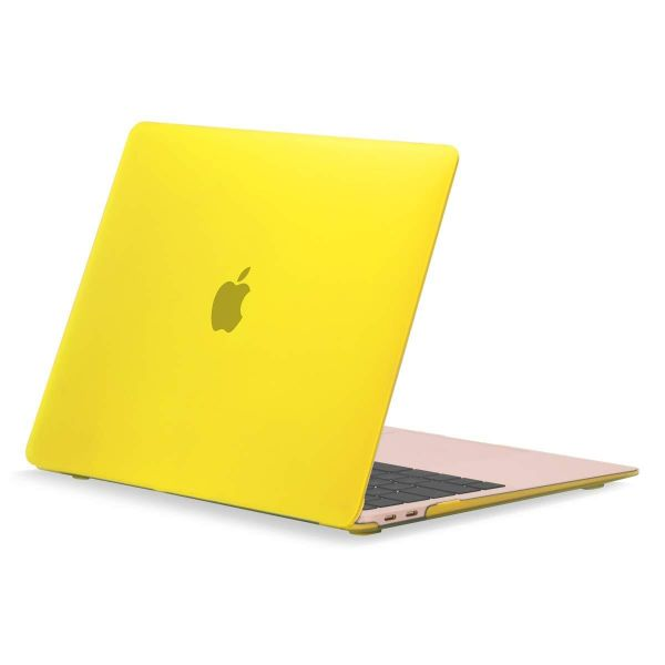 Чехол Crystal Case для Apple Macbook Air 11.6/ 13.3 pro 13/15 Желтый - Фото 1