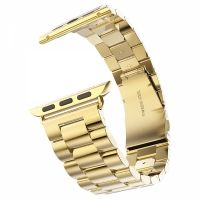 Браслет Steel Watch Band Gold For Apple Watch 38/40/42/44mm