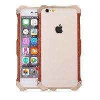 Бампер R-Just Wood iPhone 6.6s / 6 plus Gold