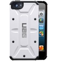 Чехол защитный Urban Armor Gear Composite Case for iPhone 4.4s.5 White