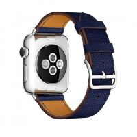 Ремешок для Apple Watch 38/40mm Hermes Single Tour Midnight Blue, Цена: 778 грн, Фото
