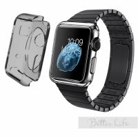 Чехол Silicol 0.6mm для Apple Watch 38mm and 42mm Black