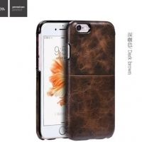 Чехол кожаный НОСО Platinum Series for iPhone 6. 6S/ 6 Plus - Brown