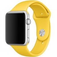 Ремешок Silicone Yellow Band for Apple Watch 38/40/42/44mm