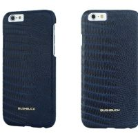 Кожаный чехол Bushbuck BARONAGE LIZARD Genuine Leather for iPhone 6 (Blue), Цена: 548 грн, Фото